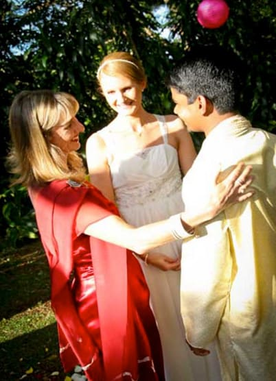 Marriage celebrant for weddings and funerals anywhere on the Sunshine Coast both hinterland and coastal beaches