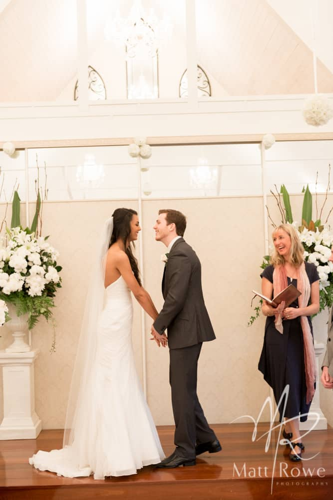 Married In A White Chapel With A Bit Of French Kari Celebrant
