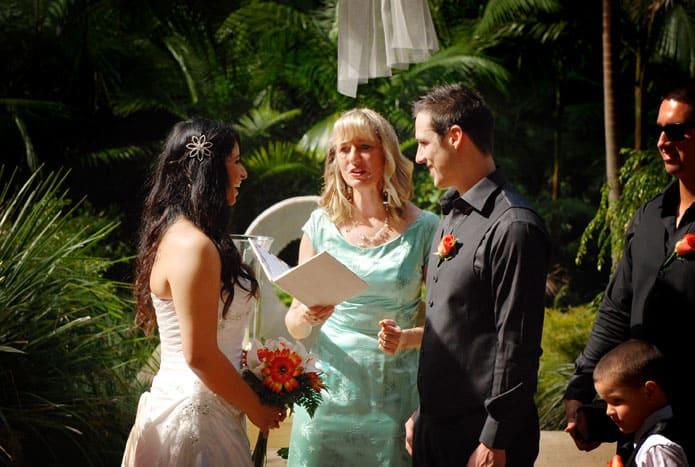 Maroochy Botanic Gardens wedding
