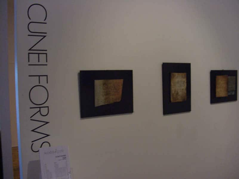 cunieforms at Noosa gallery
