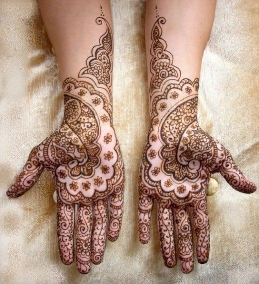 Wedding-henna-hands at Woodfordia