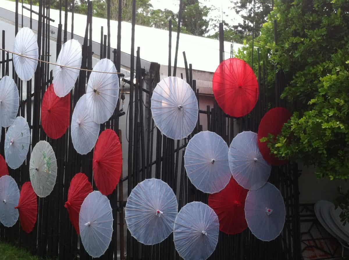 Woodfordia umbrella venue
