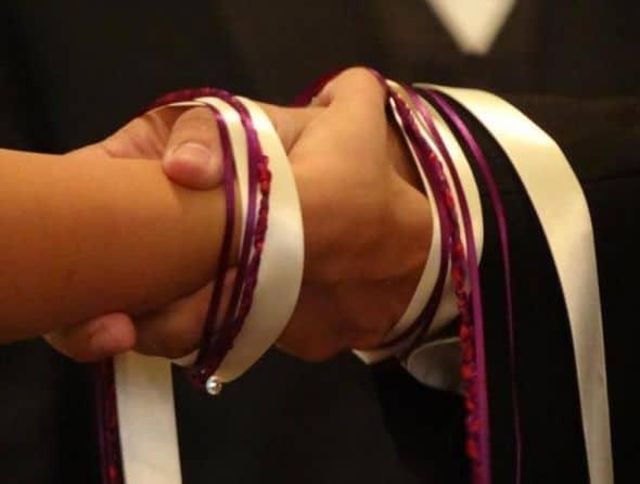 handfasting ribbons and cords