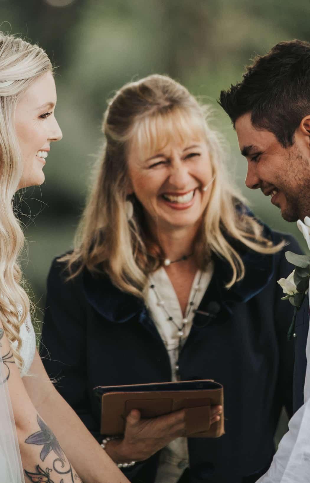 Sunshine Coast wedding and funeral celebrant for weddings and events on the Sunshine Coast and hinterland
