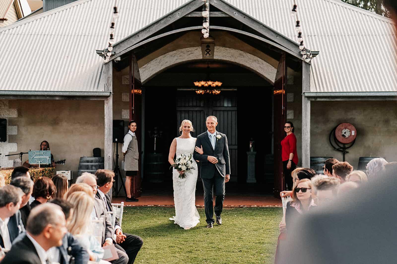 Flaxton gardens wedding celebrant