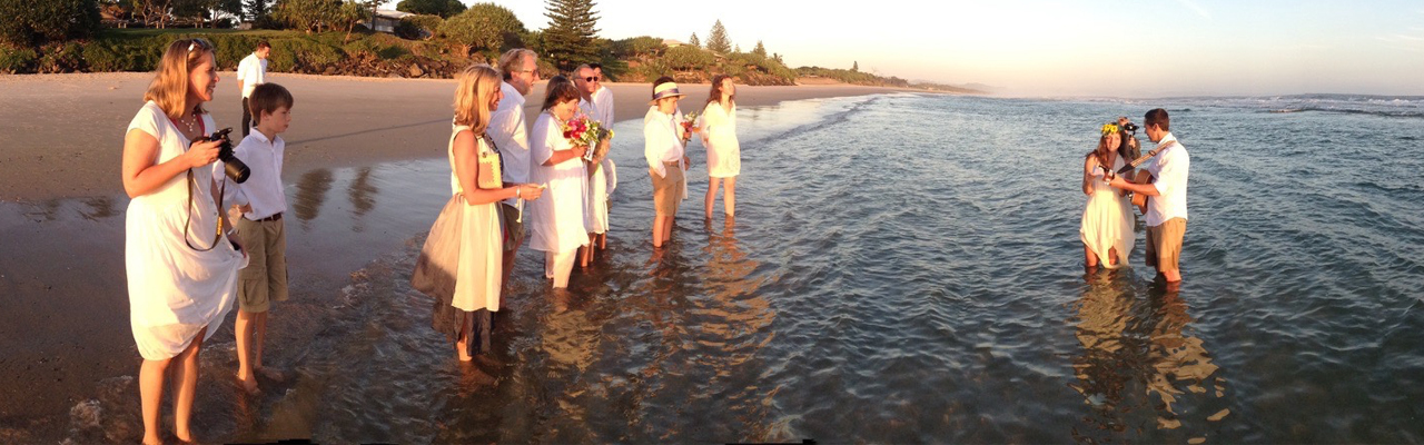 Marriage celebrant from Noosa to Byron Bay and the Sunshine Coast hinterland towns Maleny, Montville, Flaxton, Mapleton